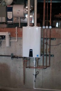 Service Plumbing NWI - Tankless Water Heater
