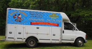 Service Plumbing Truck